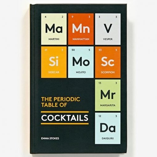 Periodic Table of Cocktails Book Cover