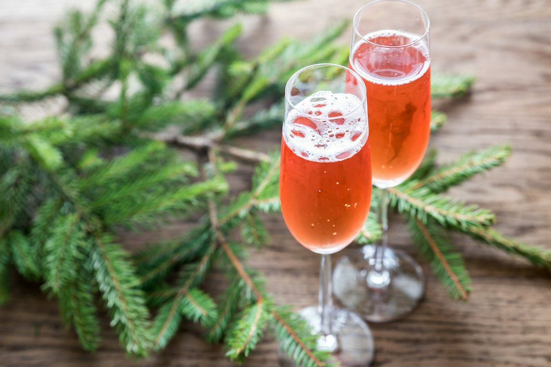 Traditional Holiday Drinks - France Kir Royale